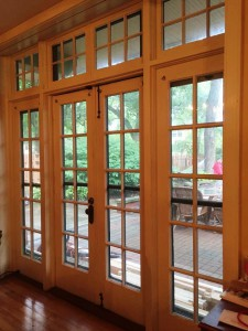French doors before 2